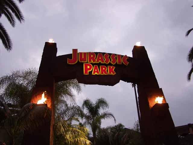 Jurassic Park Puerta
