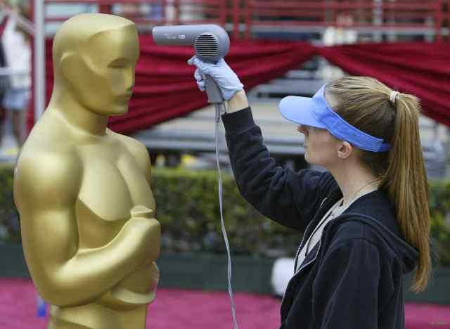 Preparativos Oscar