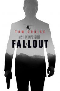 silueta de Tom Cruise para el cartel oficial