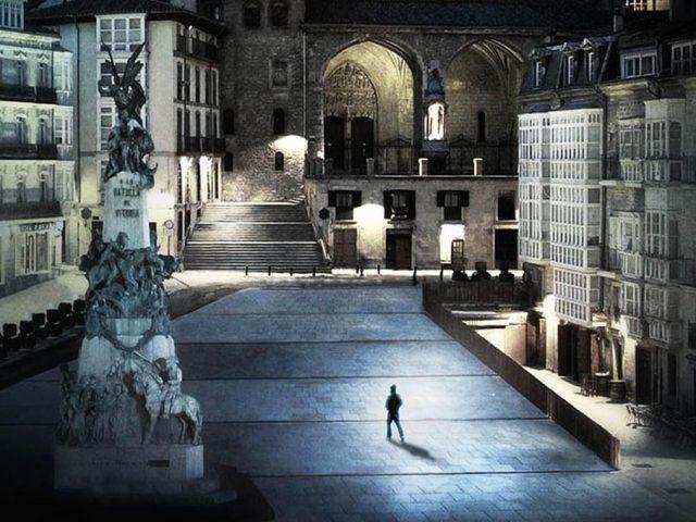 Comienza 'El Silencio de la Ciudad Blanca' en Vitoria-Gasteiz