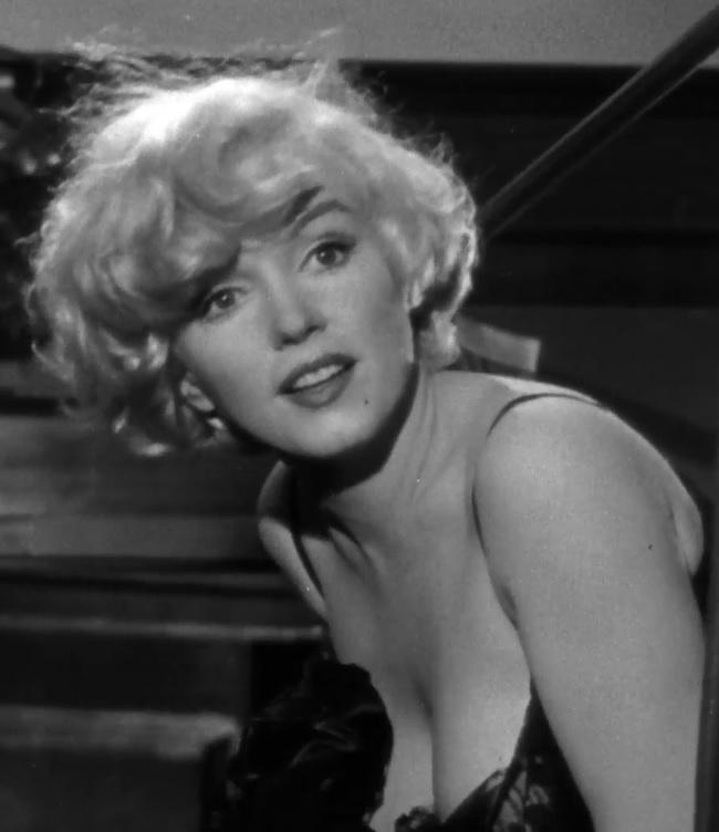Marilyn Monroe en Con faldas y a lo loco