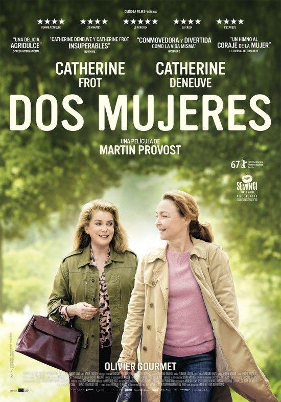 Cartel de Dos Mujeres, la película