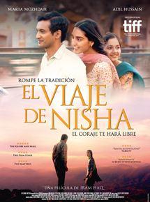 Cartel oficial de El Viaje de Nisha
