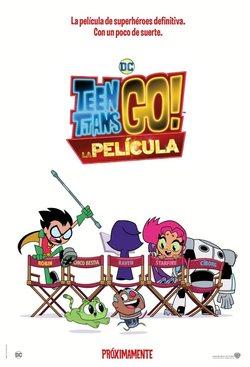 Cartel de Teen Titnas Go! La película