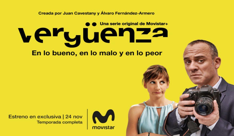 Imagenn de Movistar Plus para la serie Vergüenza