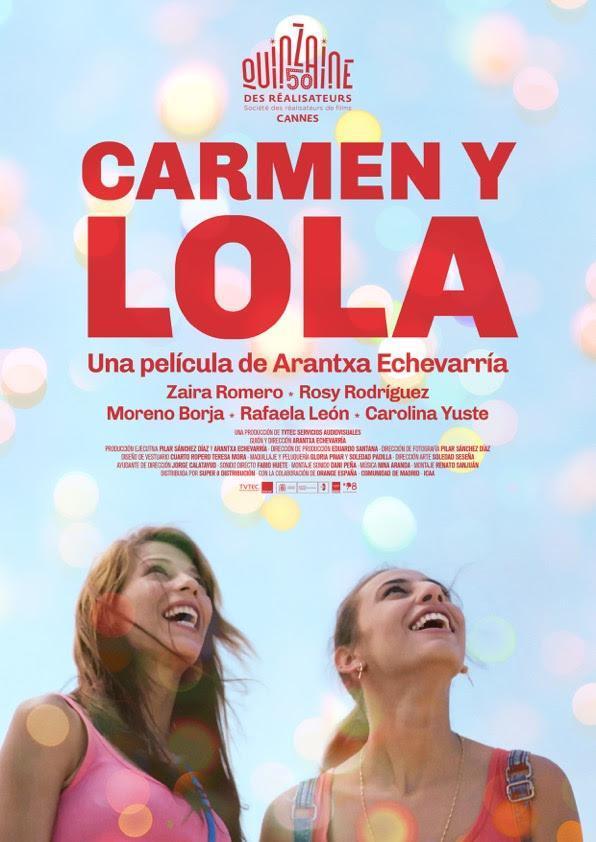 Cartel de Carmen y Lola