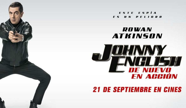 Imagen destacada película Johnny English