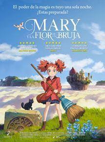 Cartel de Mary y la flor de la bruja