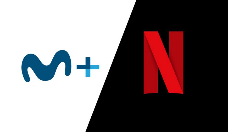 Imagen destacada de Movistar y Netflix