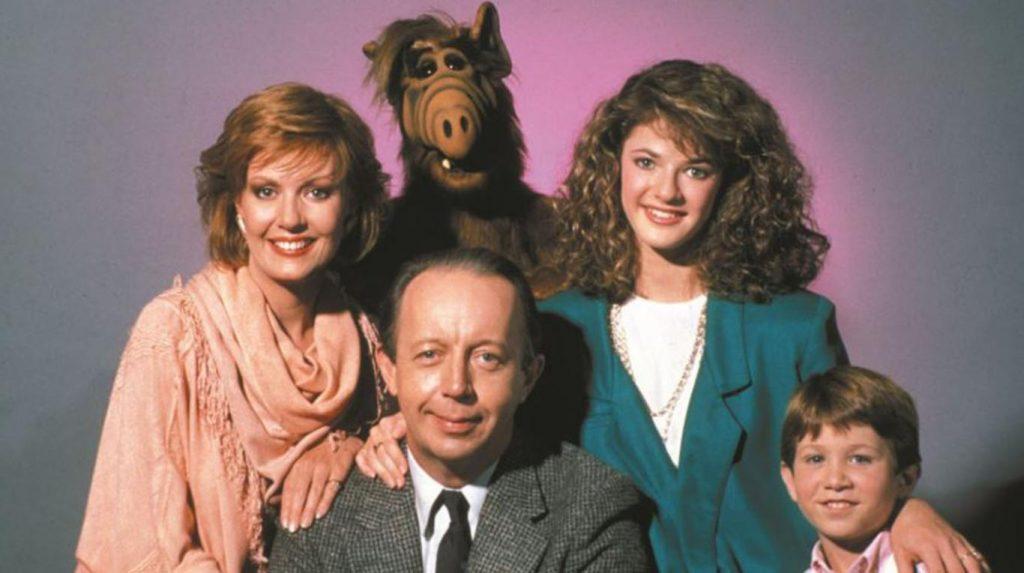 Imagen de Alf y a familia