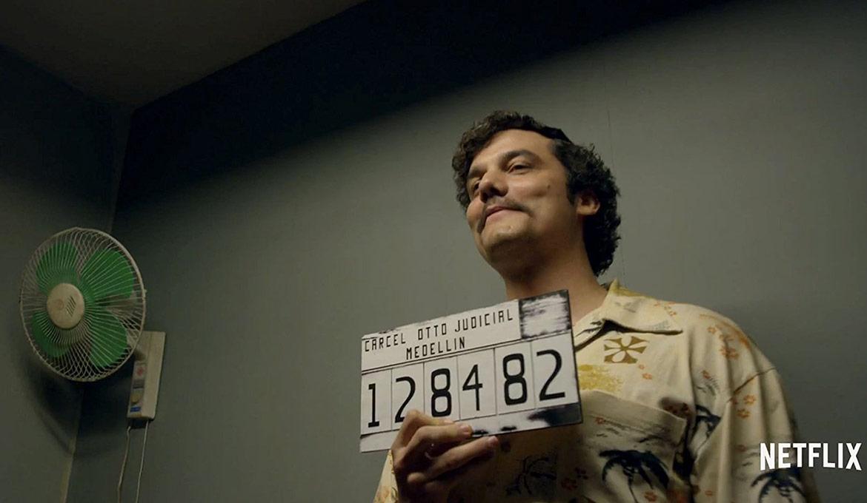 Pablo Escobar detenido