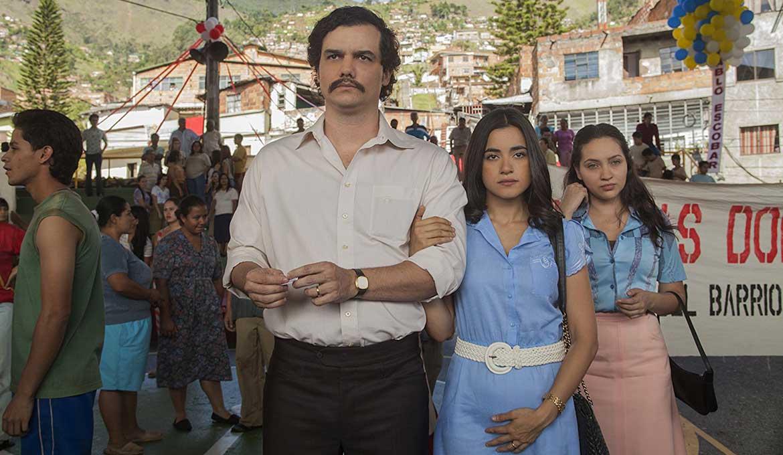 Pablo Escobar y Tata embarazada