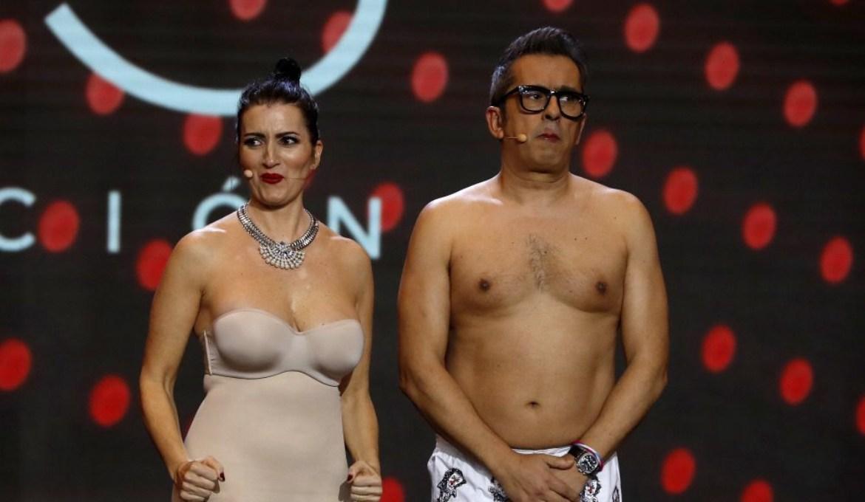 Imagen de Andreu Buenafuente y Silvia Abril en los Premios Goya 2019