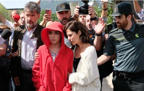 Carla Díaz en la caza moteperdido