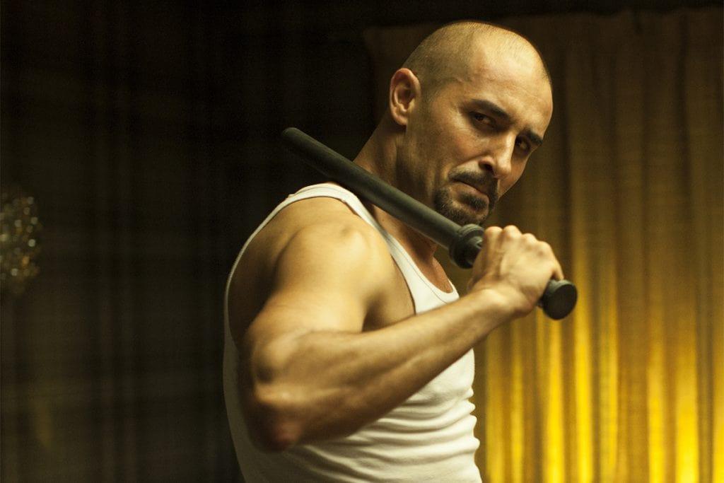 Alain Hernández en la película El rey tuerto