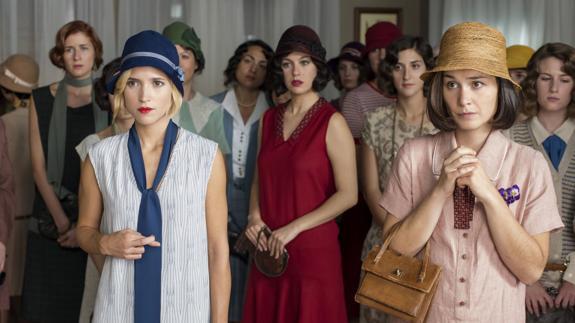 Ana Fernández García en las chicas del cable