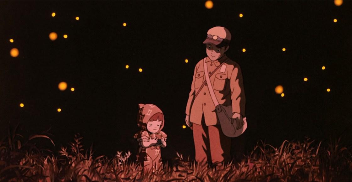 imagen de la tumba de las luciérnagas pelicula anime