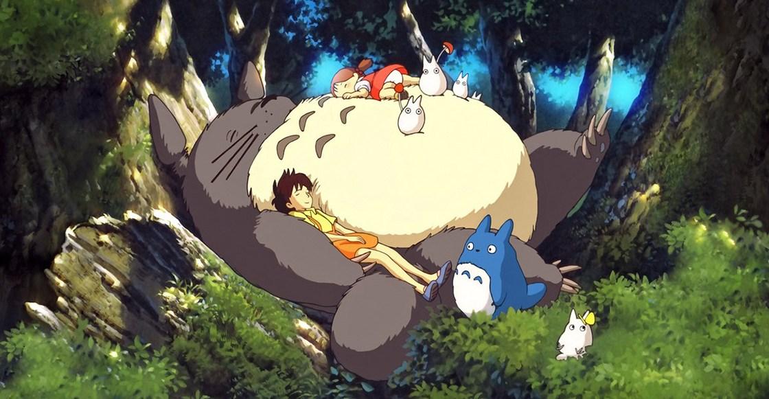 imagen de mi vecino totoro pelicula anime