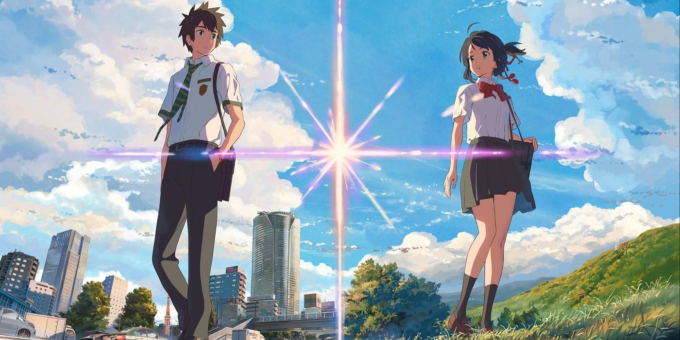 imagen de your name pelicula anime