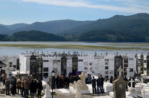 cementerio municipal de Ortigueira Galicia