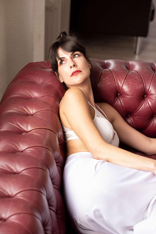 Entrevista a Noemí Ruíz sofá