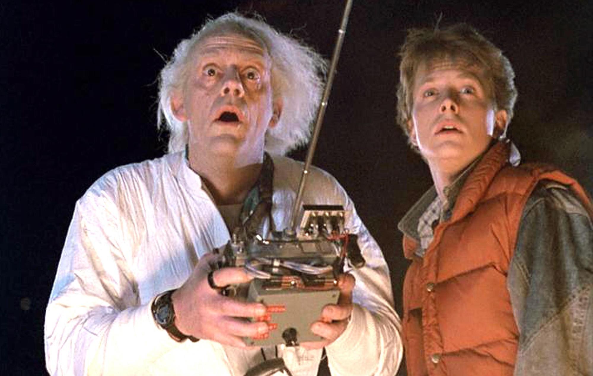regreso al futuro películas de los 80