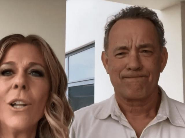Rita Wilson & Tom Hanks en cuarentena